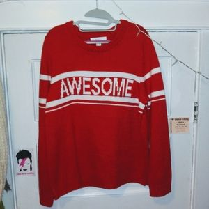 !!°•°AWESOME°•°!! red sweater!!